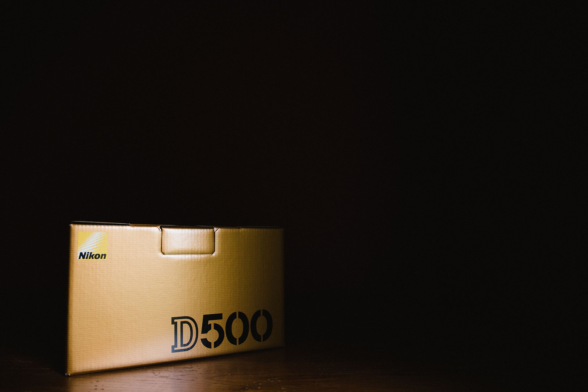 photo of Nikon D500 box by Jessica Svoboda