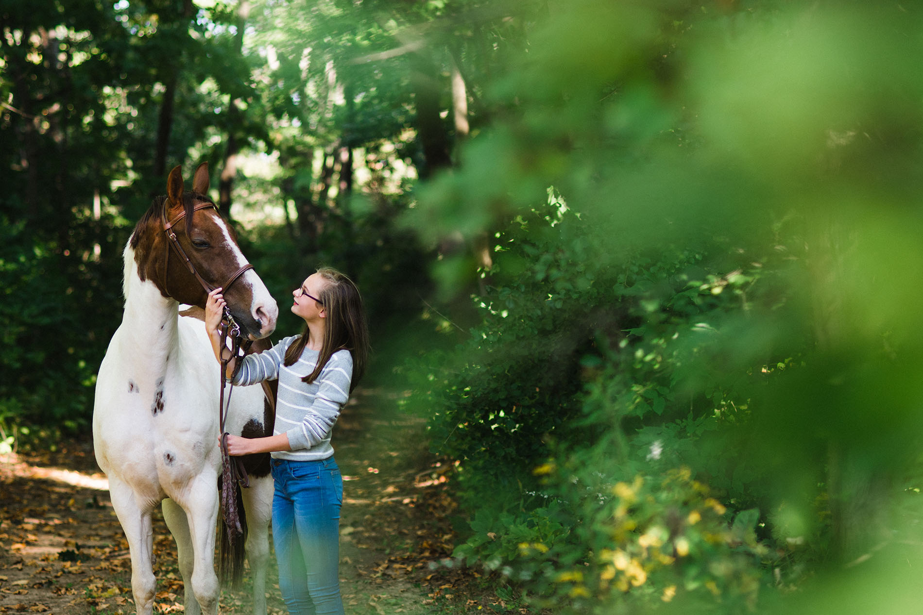 photo of a girl and a horse by Jessica Svoboda