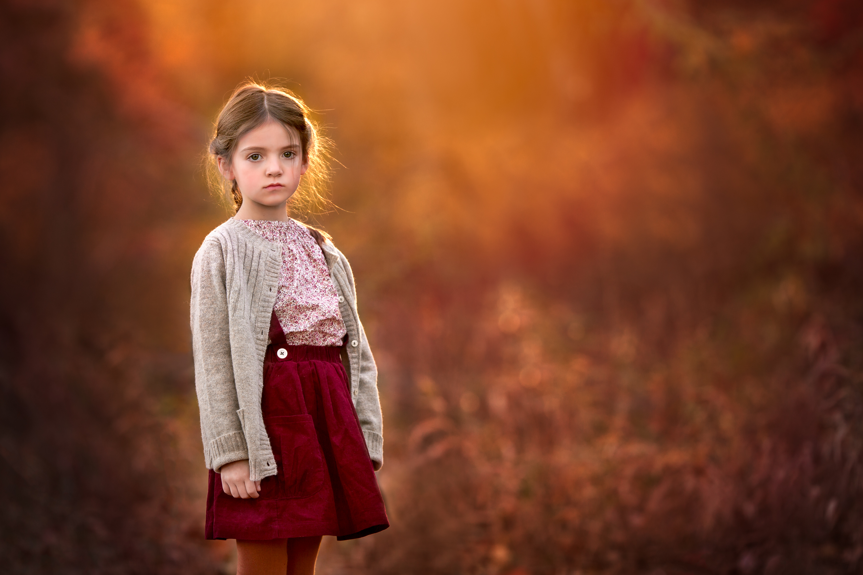 Child, Everyday, Fine Art, Portrait by Clare Ahalt with Canon EF 200mm f/2L IS USM