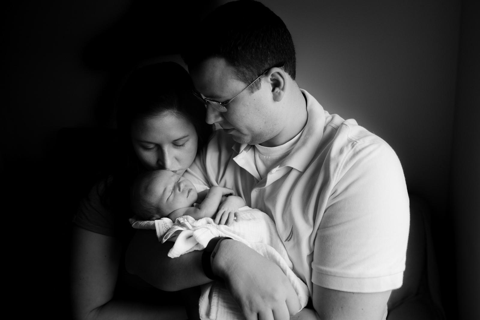 family photo with newborn by Sarah Rypma