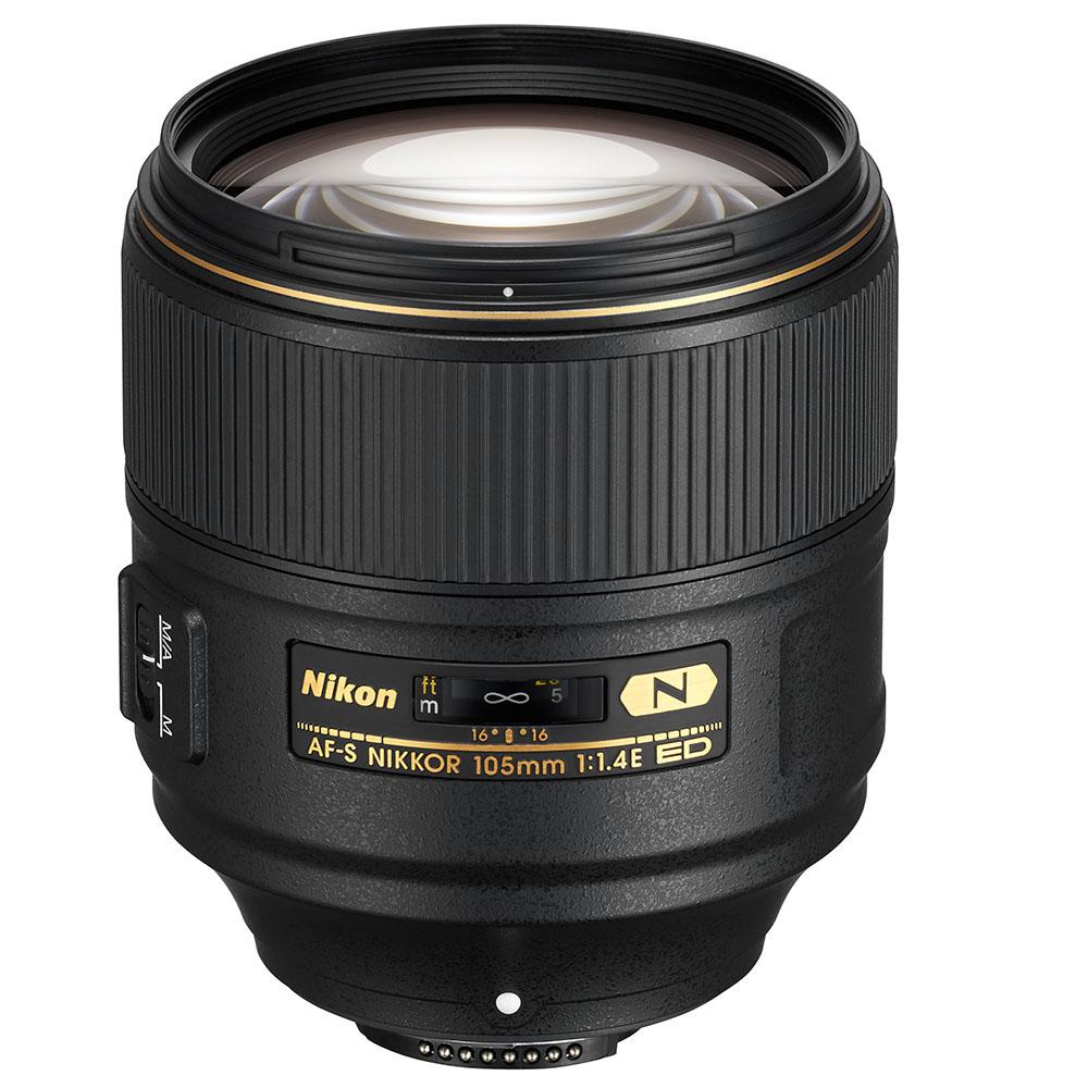 Nikon AF-S Nikkor 105mm 1.4E lens