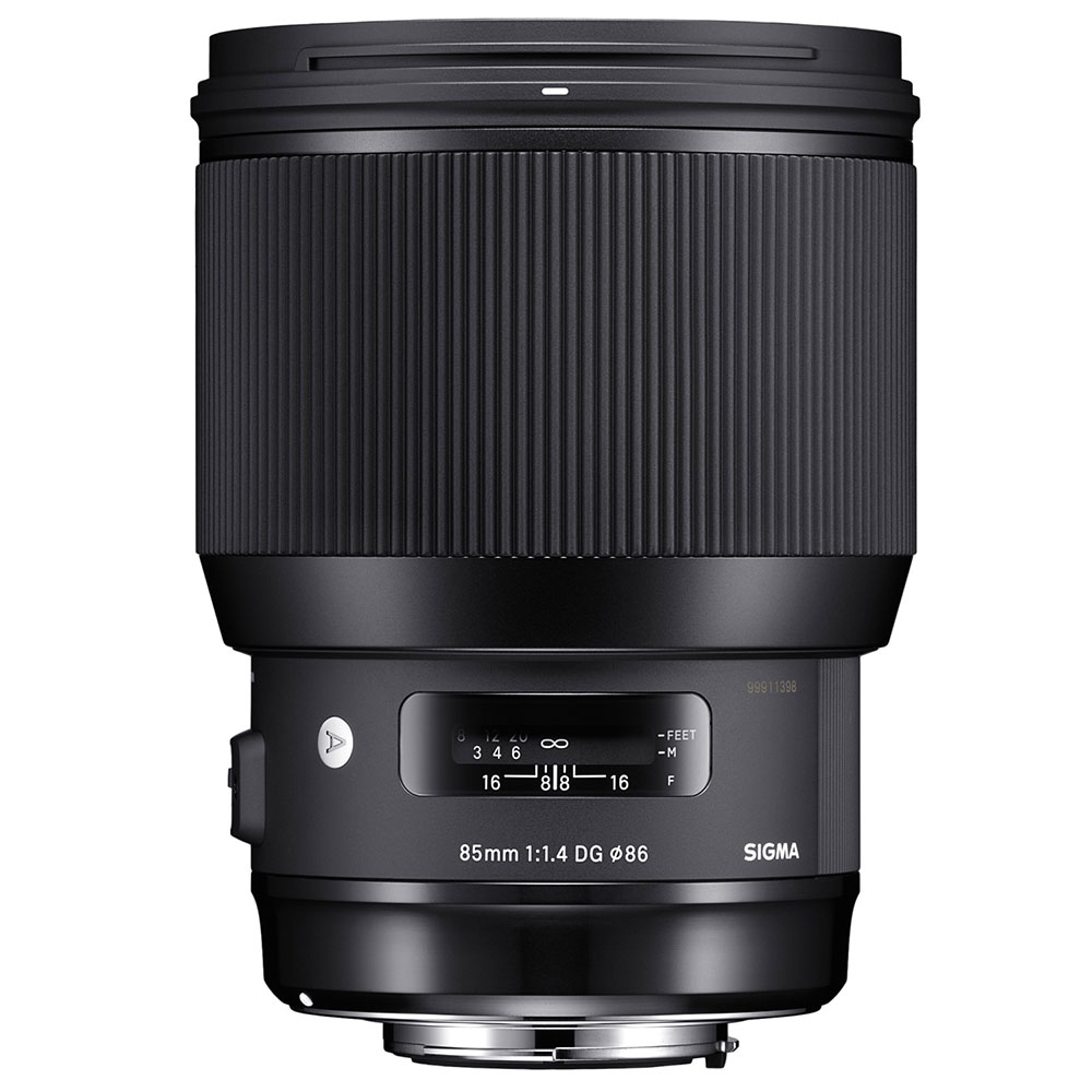 Sigma 85mm 1.4 Art lens