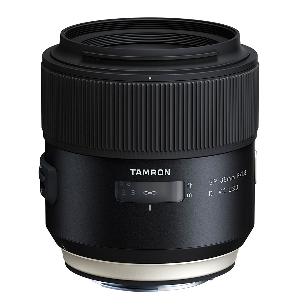 Tamron SP 85mm 1.8 Di VC USD lens