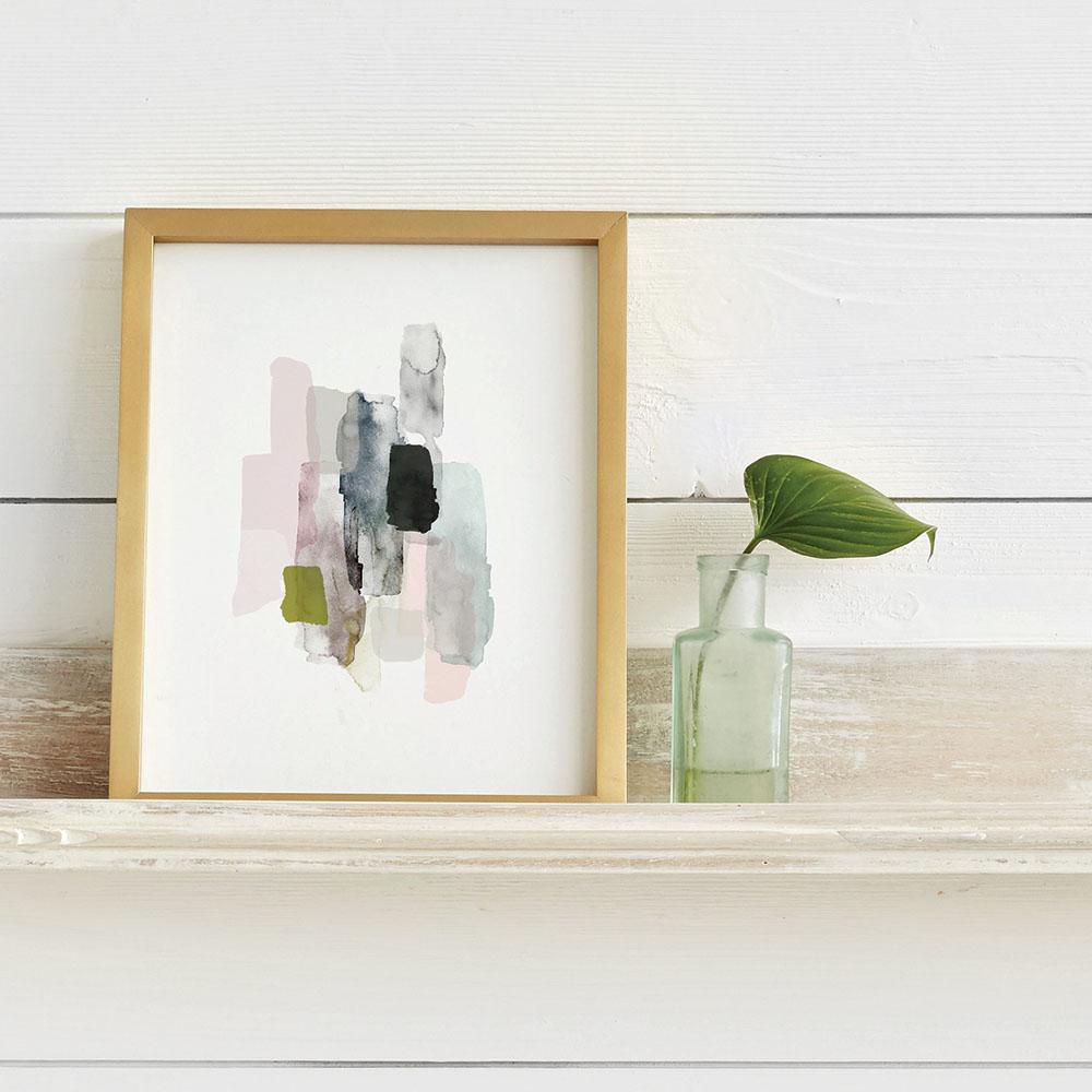 artful shelf from minted