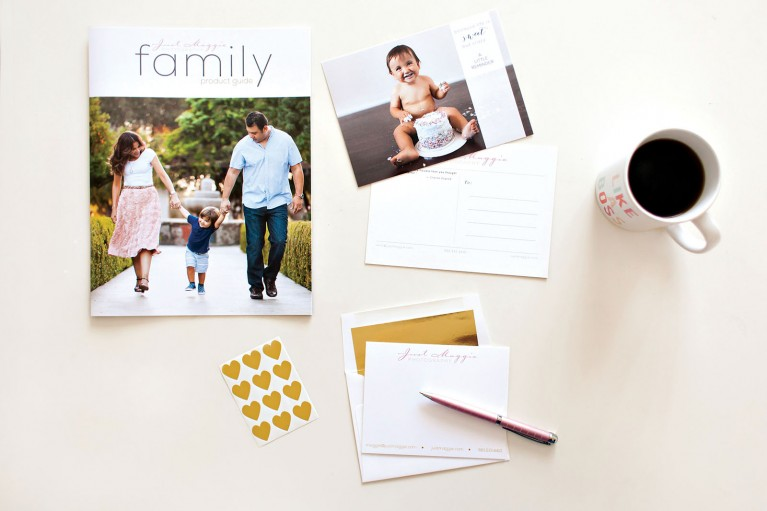 family photography flatlay photo by Maggie Keegan Gross