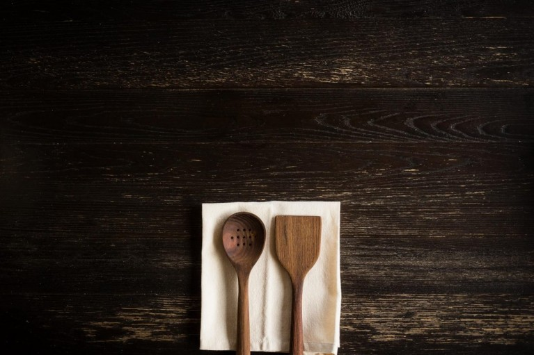 minimal photo of kitchen utensils by Erica Richardson