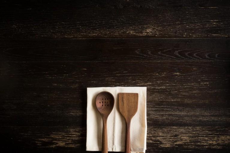 minimal photo of kitchen utensils by Erica Richardson
