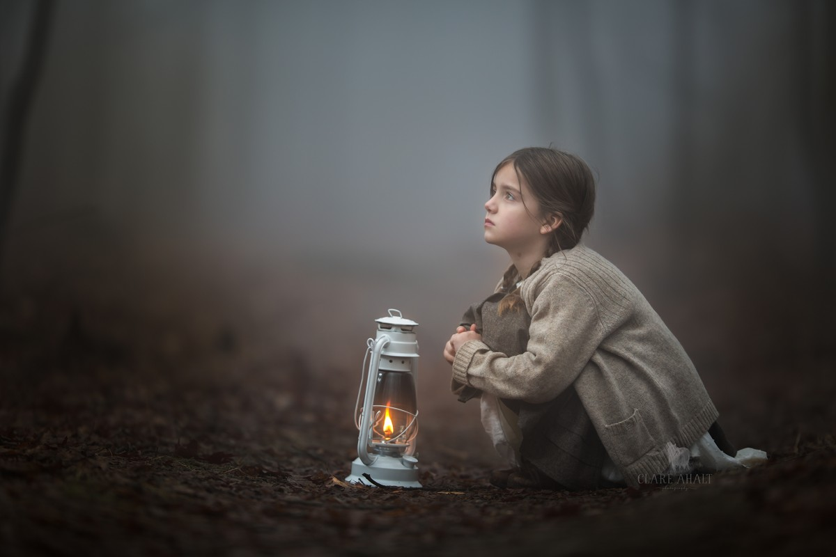 Child, Fine Art, Low Light by Clare Ahalt with Canon EF 200mm f/2L IS USM