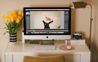 photographer desk space by April Nienhuis