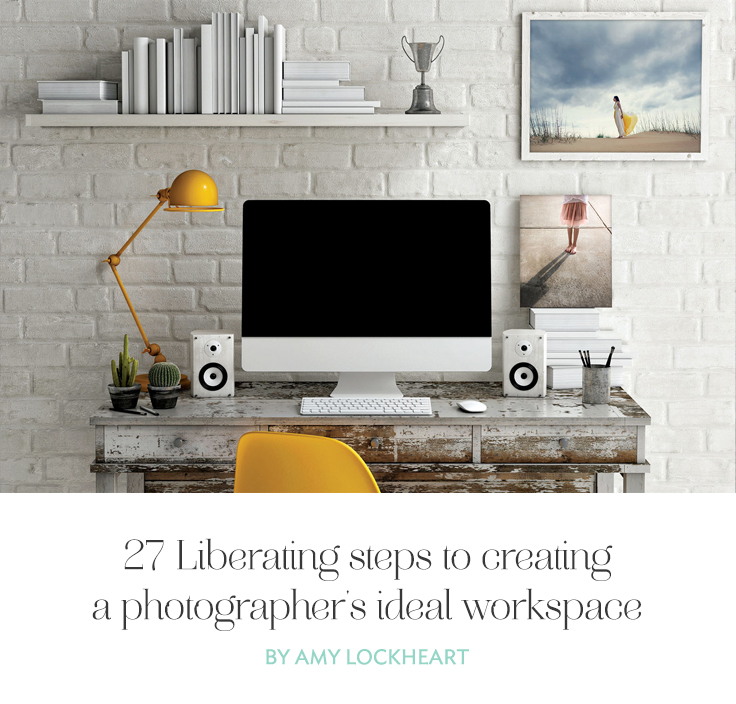 You spend hours at your desk every week and you deserve the tools that will help you be efficient. Let these steps help you create the space you deserve.