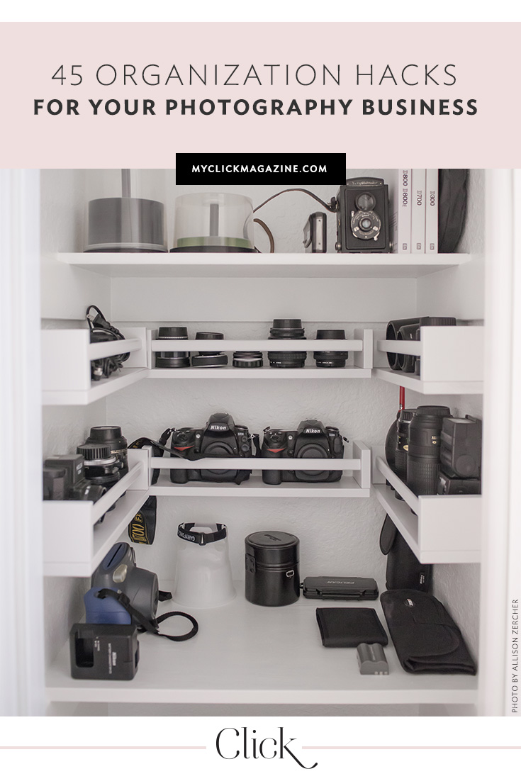 Organize your photography business