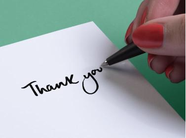 Thank you notes from Moo
