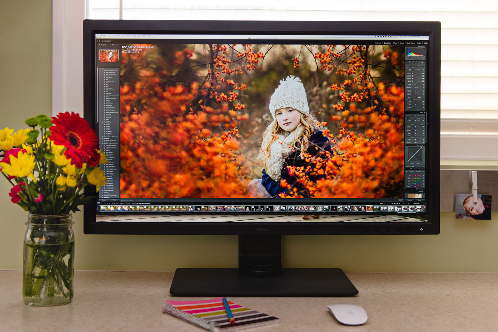 BenQ SW320 Monitor: Quality & functionality come together beautifully