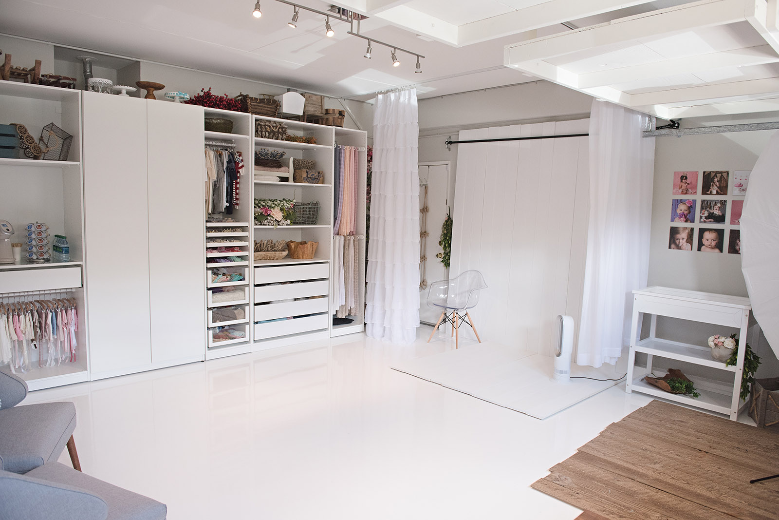 Inspiring Space A Garage Turned Photo Studio From Ashley