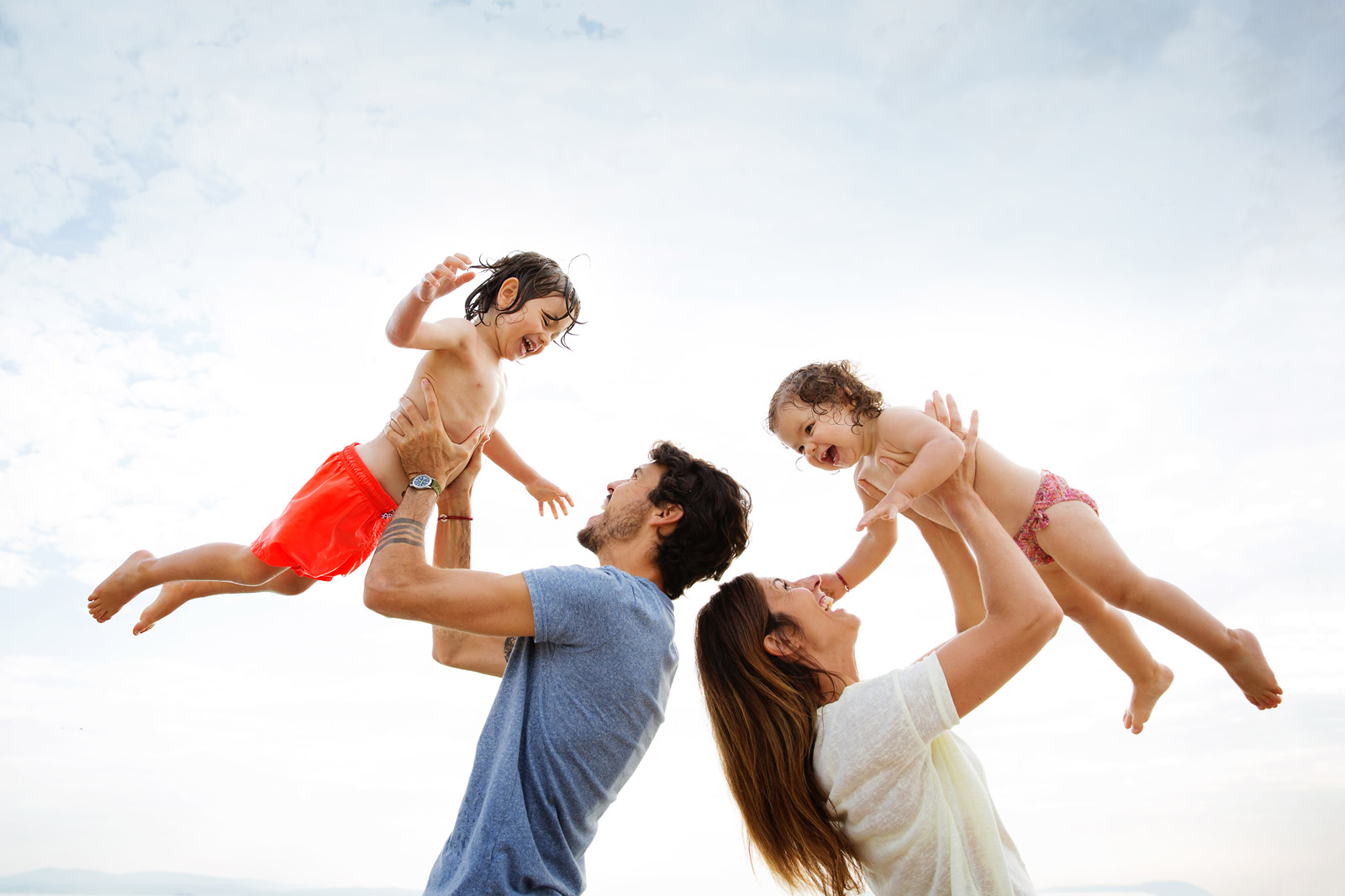 How to joyfully capture photos of parent and child together by Lisa Tichane
