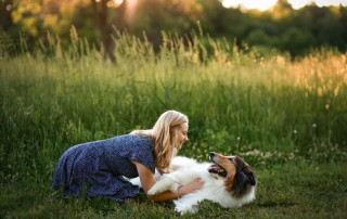 As a pet photographer in my community, I wanted to share some tips and tricks for getting the client and the dog in the right frame of mind!
