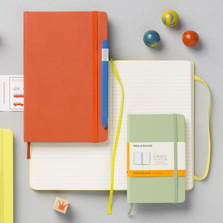 Moleskine notebooks