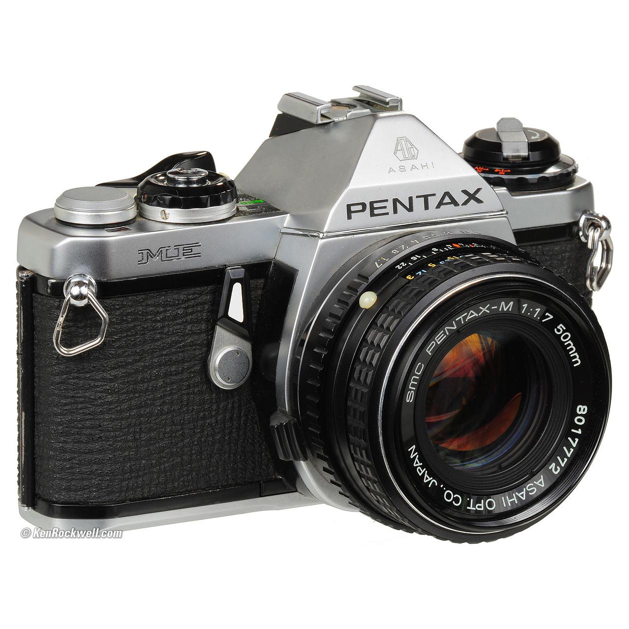Pentax ME 35mm film camera