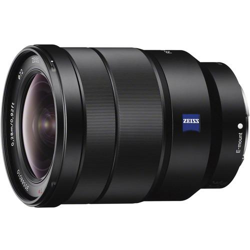 Sony 16-35mm F4 Vario-Tessar T FE lens