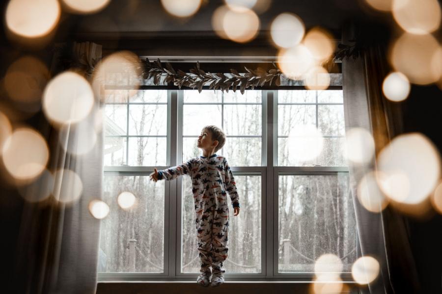 Child, Fine Art, Low Light by Julie Audoux with Canon EF 24-70mm f/2.8L II USM