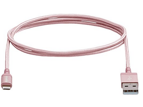 rose gold phone charger