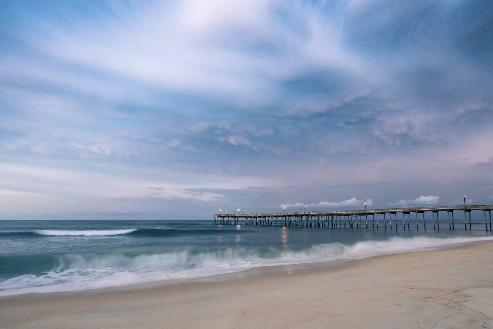 landscape photography long exposure at Avon pier
