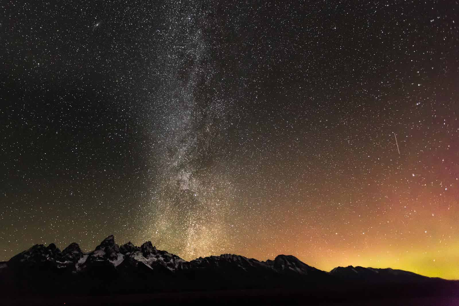 The Milky Way night photography