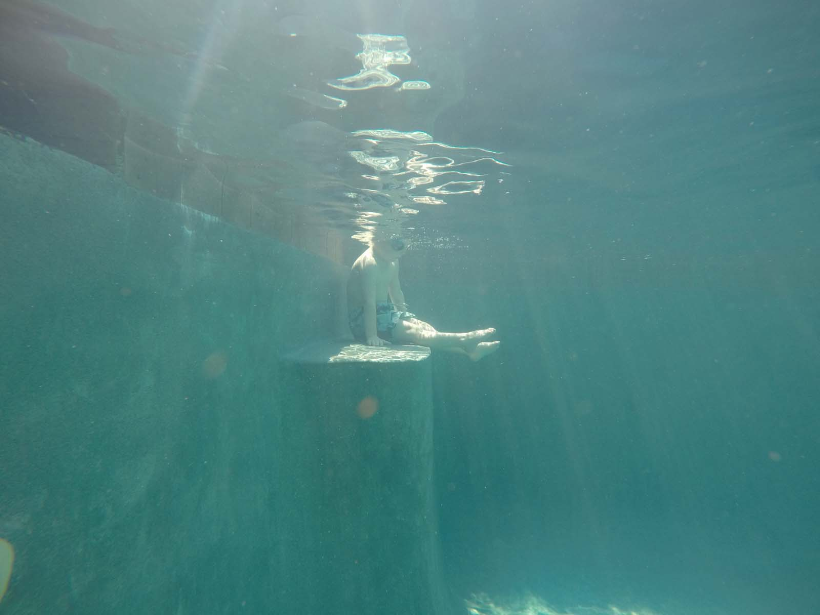 unedited (SOOC) image for boy underwater