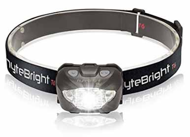 Photography bargains: red light headlamp