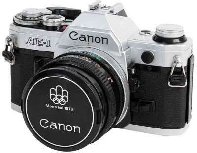 vintage cameras and lenses are great bargain photography options