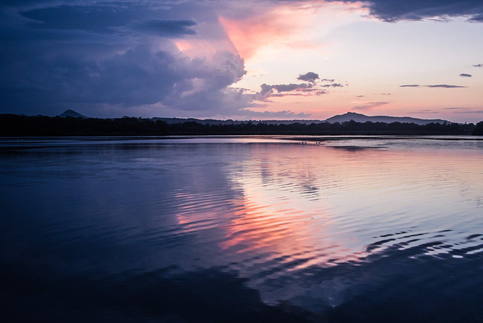 A tropical thunderstorm creates great sky photos.
