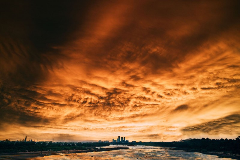 Incredible sky photo by Kristen Ryan