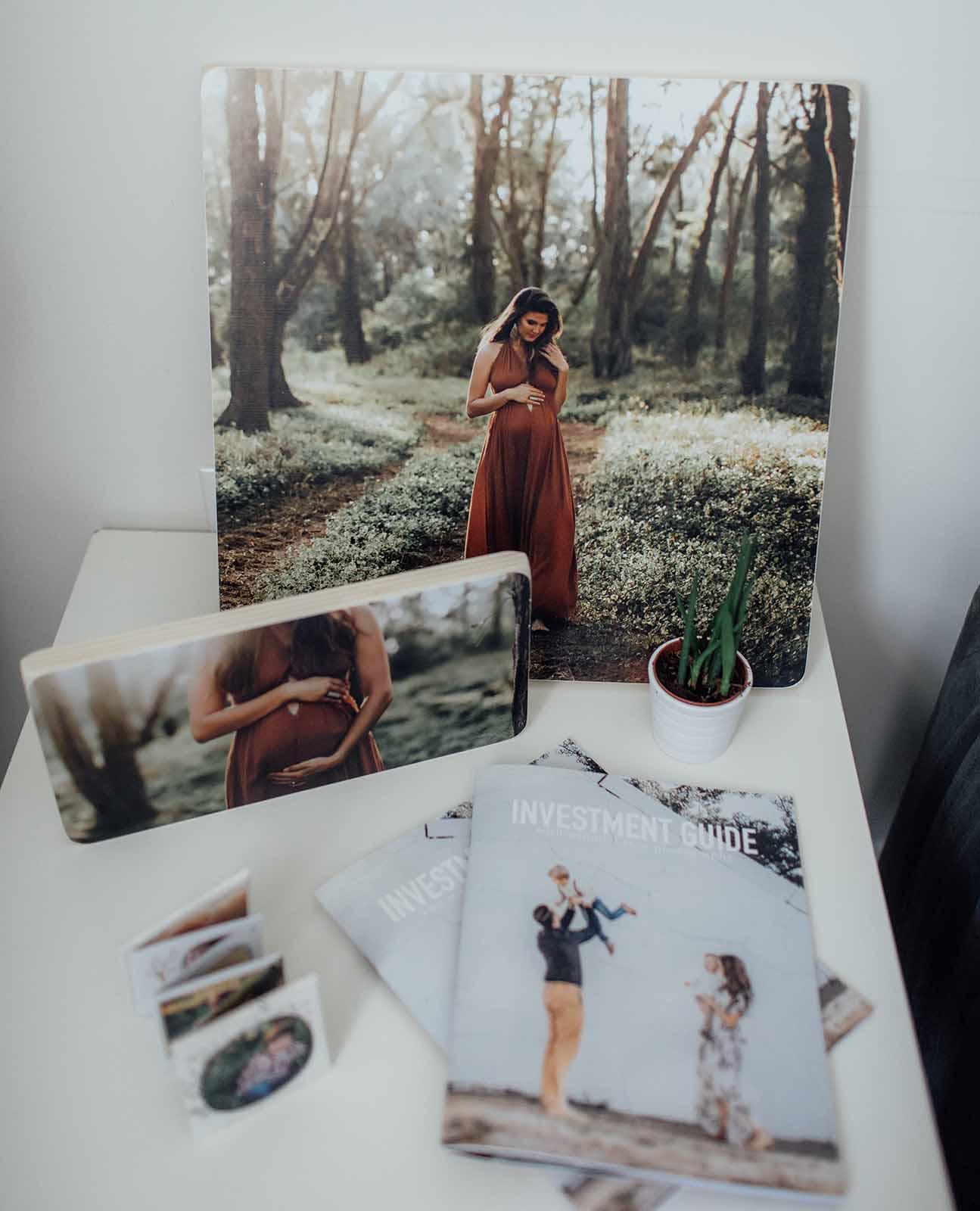 Newborn photography studio essentials - samples