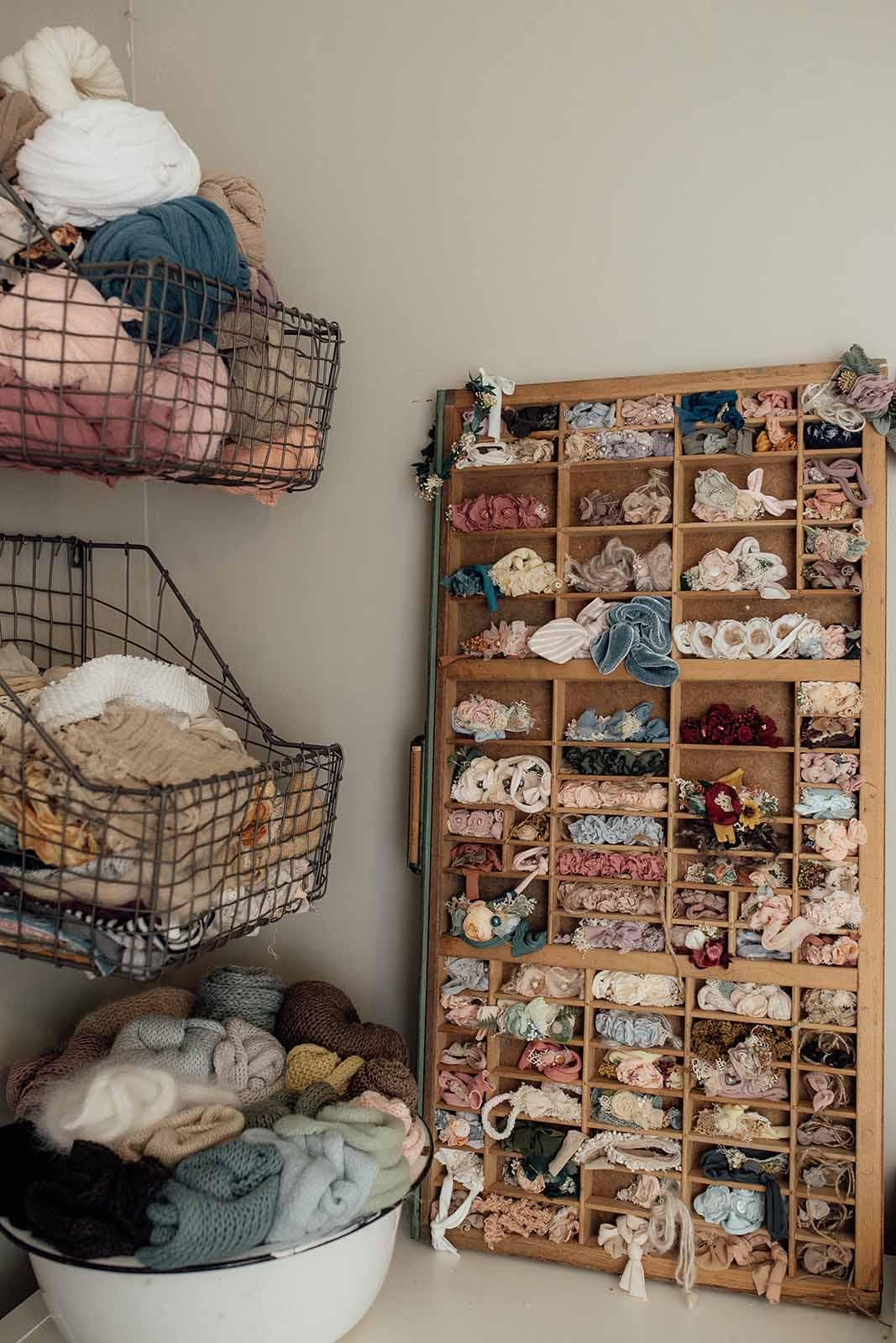 Newborn photography studio essentials - hats