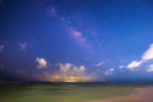 Kristen Ryan uses a ProMaster tripod to capture night photography