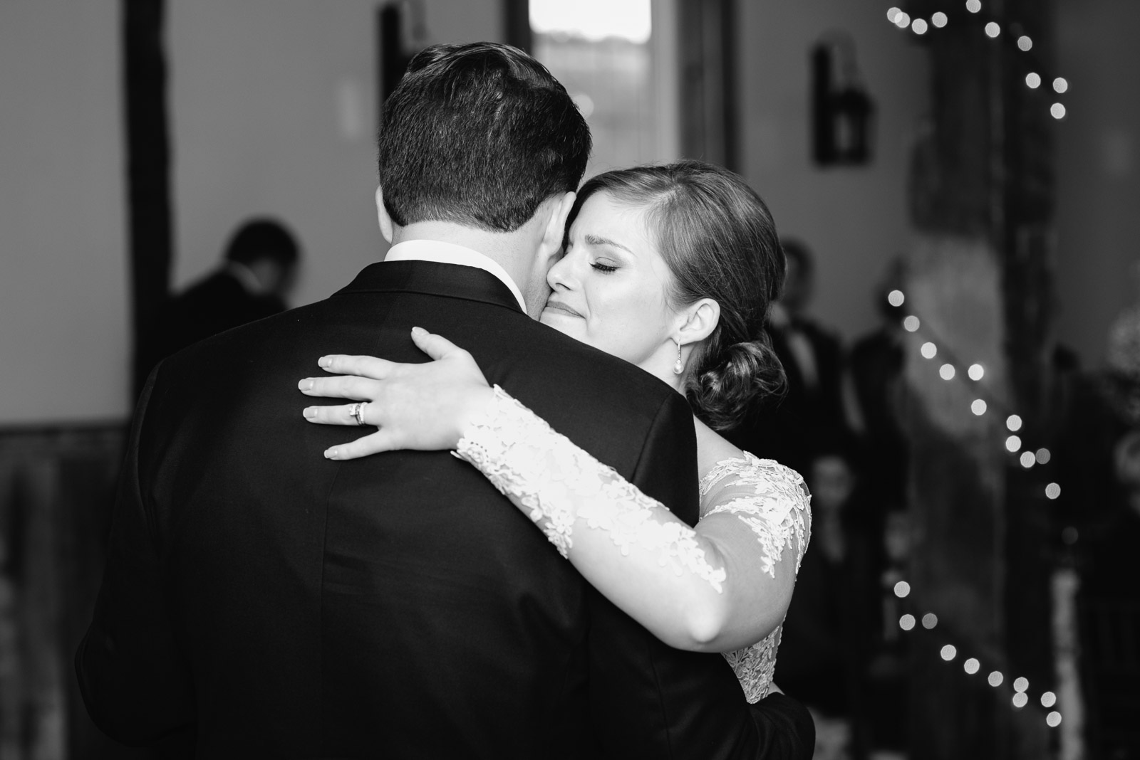 A first dance at a wedding by second photographer Mariah Fisher