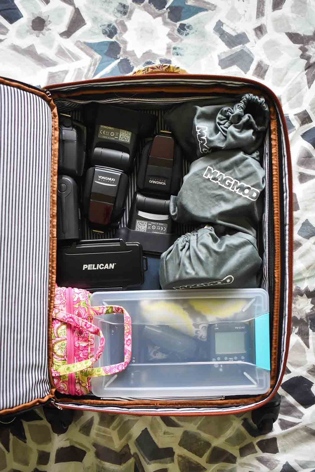 Traveling with photography gear - find the right bag.