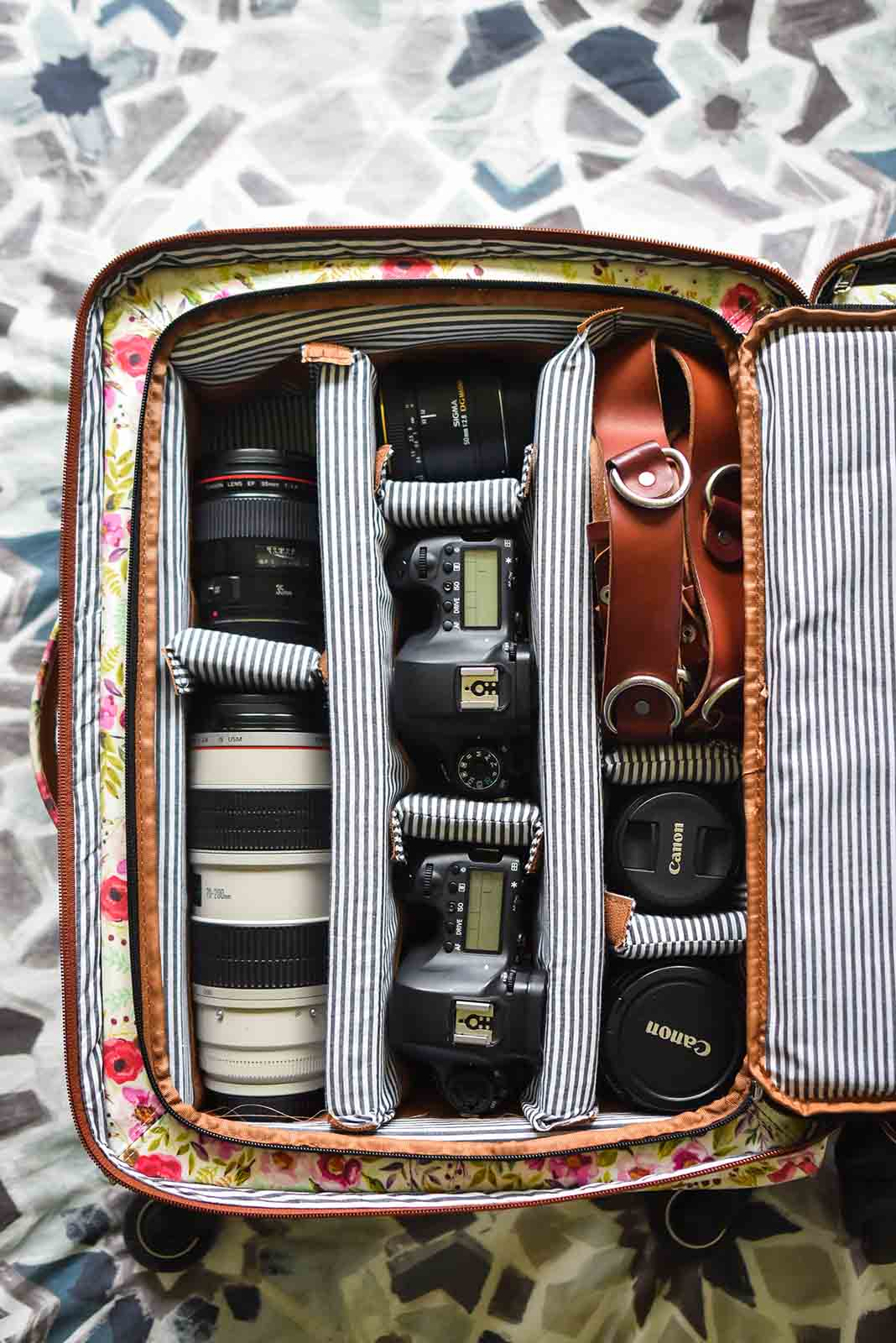 Traveling with photography gear can be easy with the right tips.