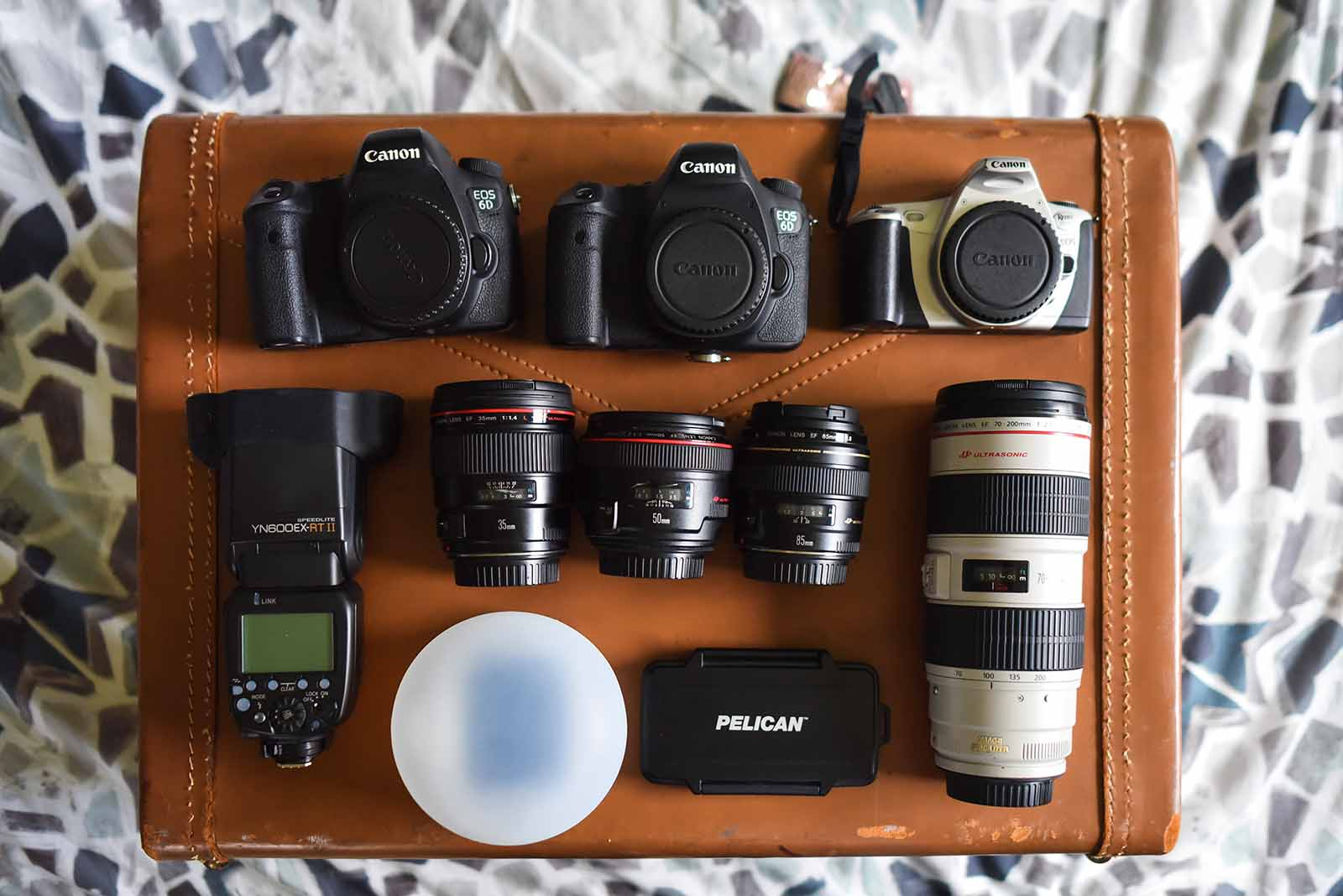 Alicia Bruce's travel photography gear and tips