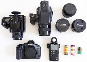 Film cameras and lenses