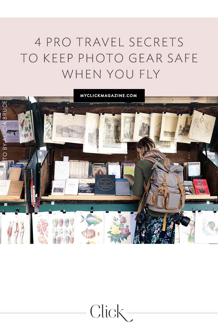 Keeping your photography gear safe while traveling