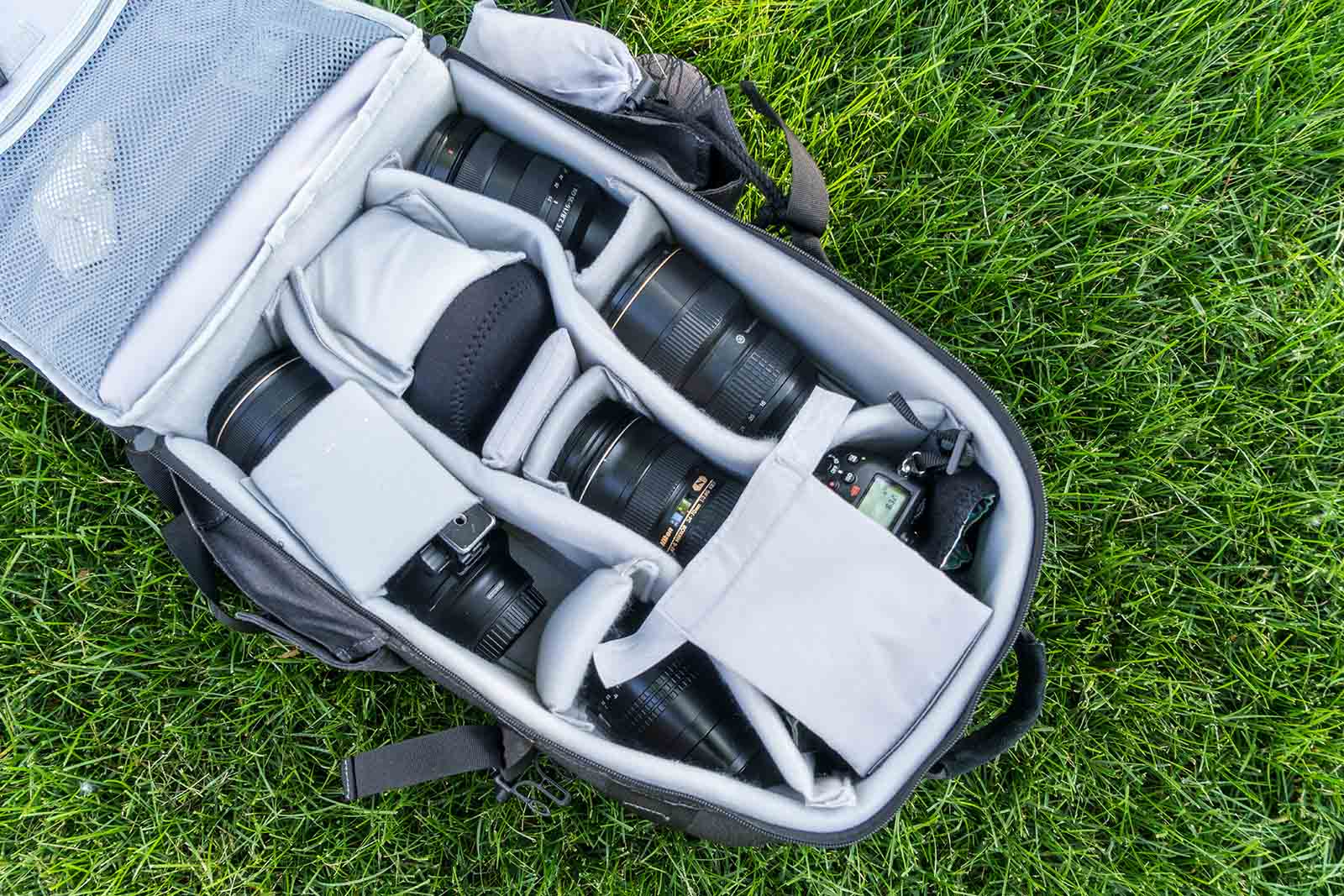Promaster backpack for landscape photography