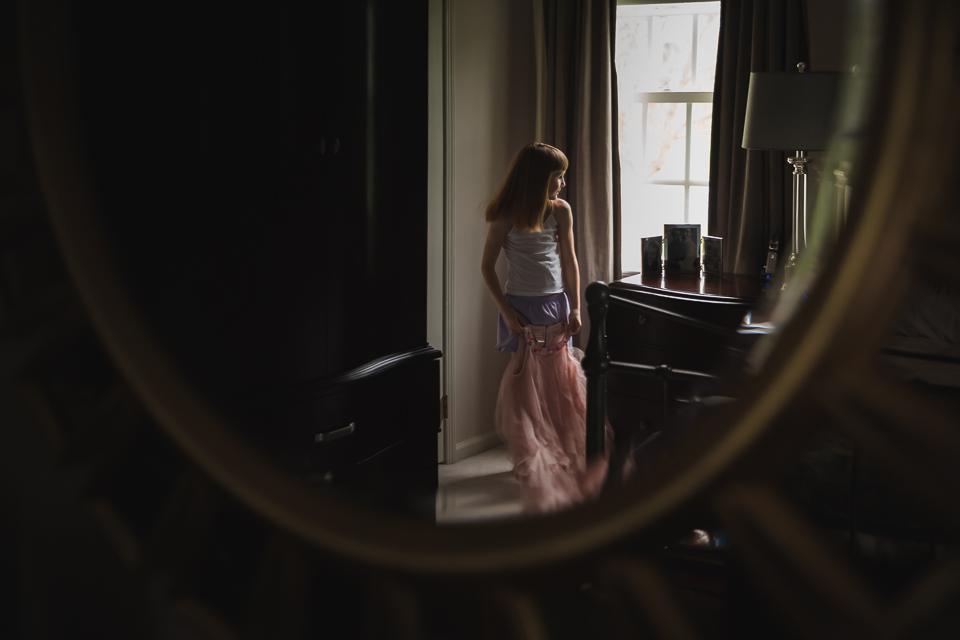 She loves that dress. #themindfulapproach #loveourbigkids