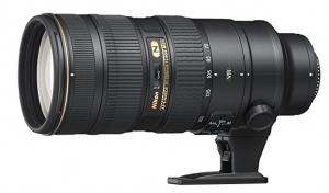 Nikon 70-200 telephoto lens