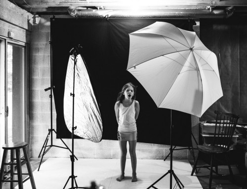 How to set up a complete basement photo studio in just 5 minutes