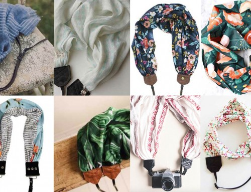 8 Cute and comfy scarf camera straps for 2018