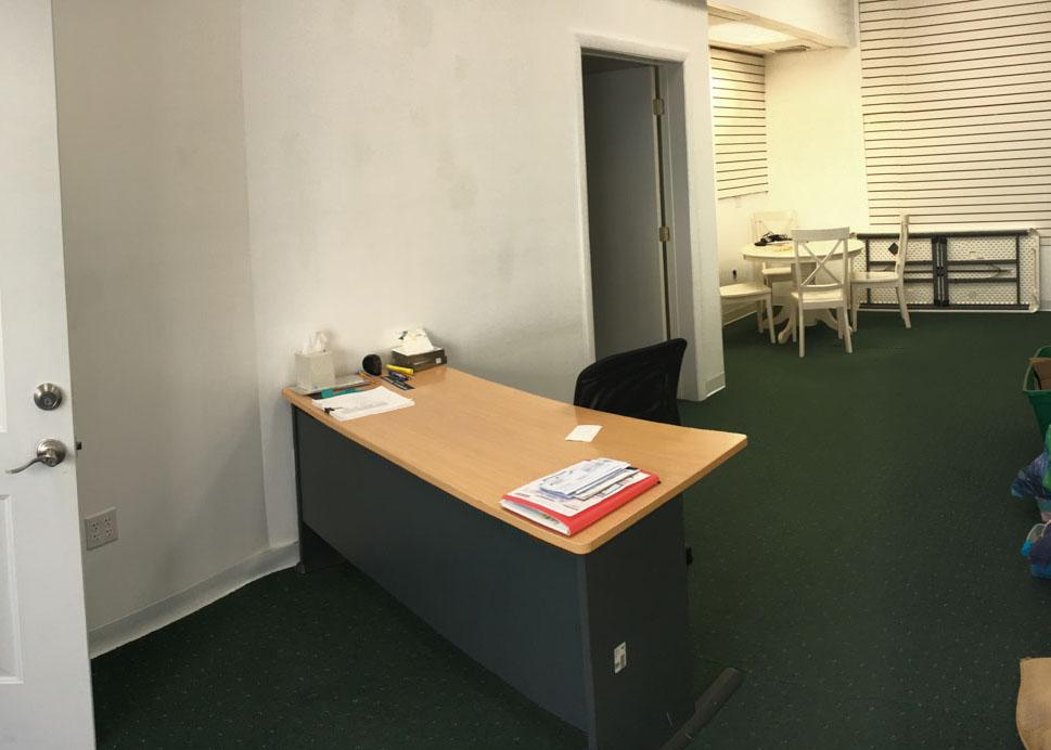 Photography studio renovation - before