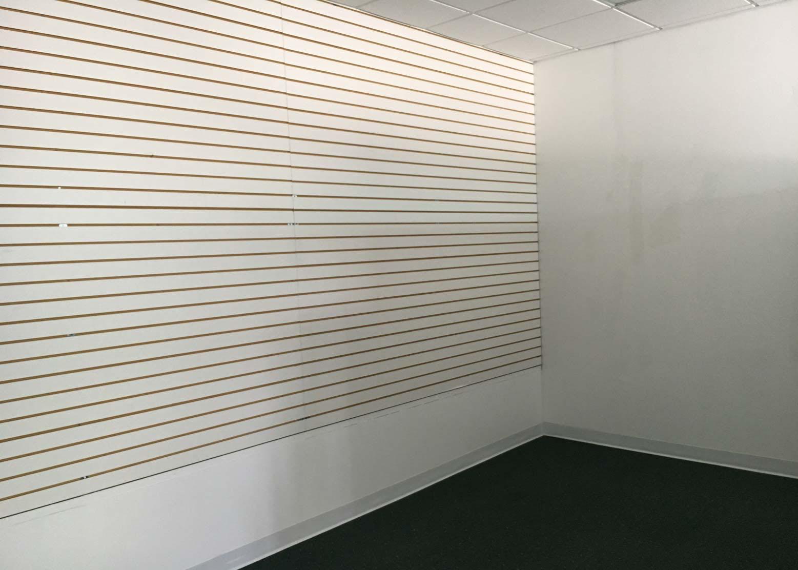Before renovation of photography studio