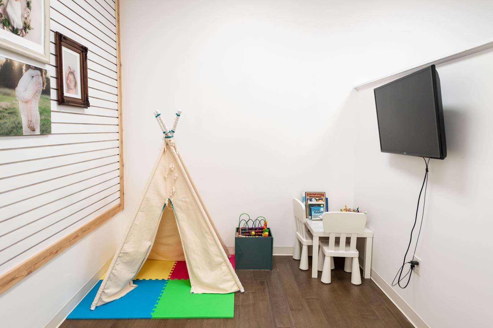 Photo studio design - kids area