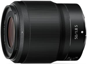 Nikon Z-mount 50mm lens